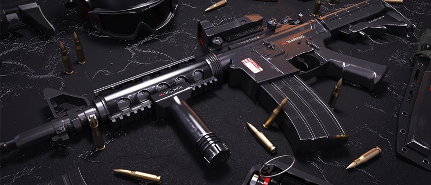 Rifles de asalto free fire
