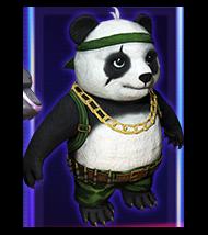 Panda_Transparente Mascotas Free Fire