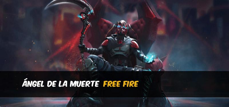 Ángel de la muerte Fondo Free Fire
