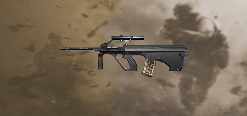 AUG Nueva arma Free FIre