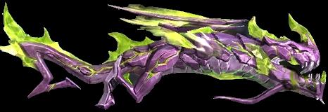 Dragón Flama Verde